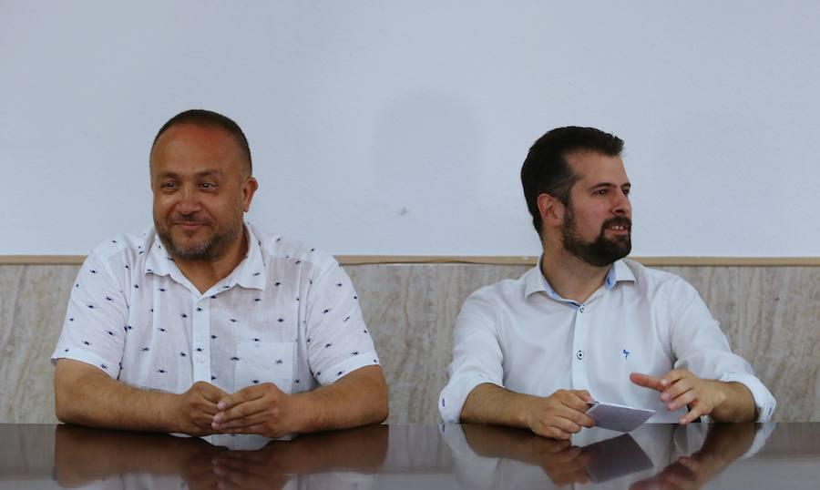 Tudanca se reúne con militantes del Bierzo