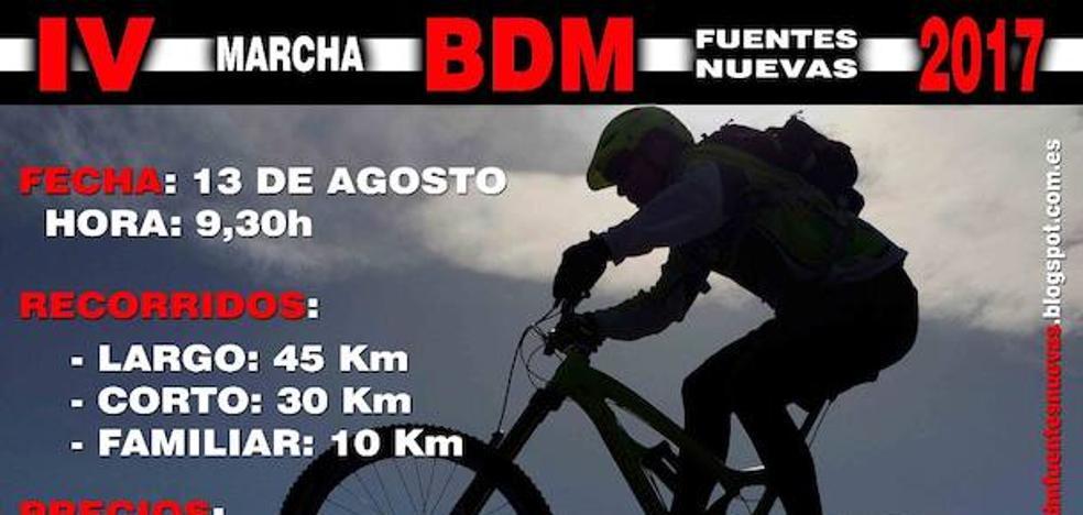 Fuentesnuevas celebra su IV Marcha de Bicicleta de Montaña