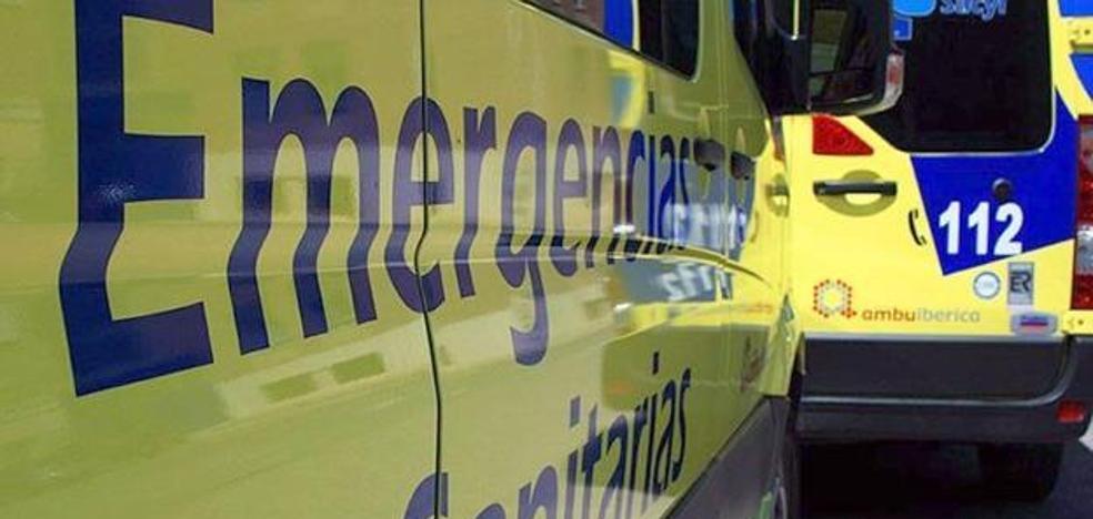 Seis heridos en una colisión entre dos turismos en Camponaraya