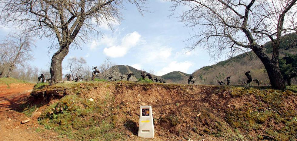 La Asociación del Camino de Invierno exige a la Junta el reconocimiento oficial para esta ruta jacobea