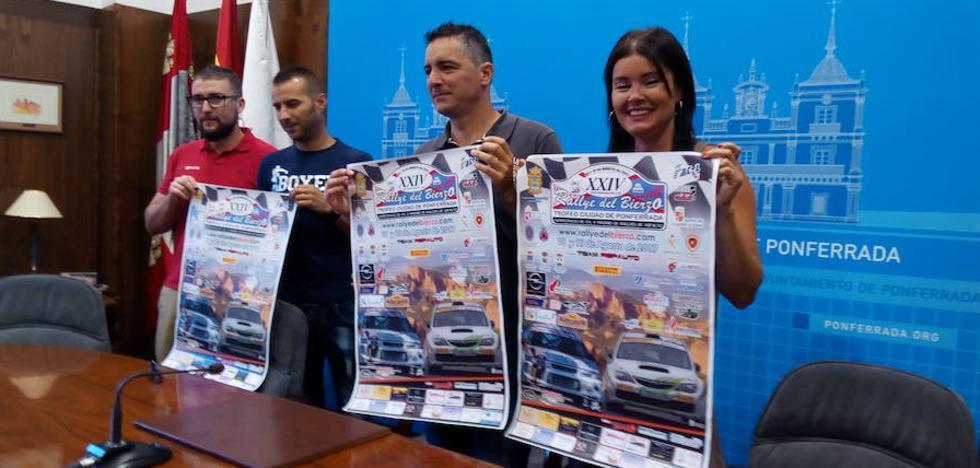 58 equipos disputan el XXIV Rally del Bierzo