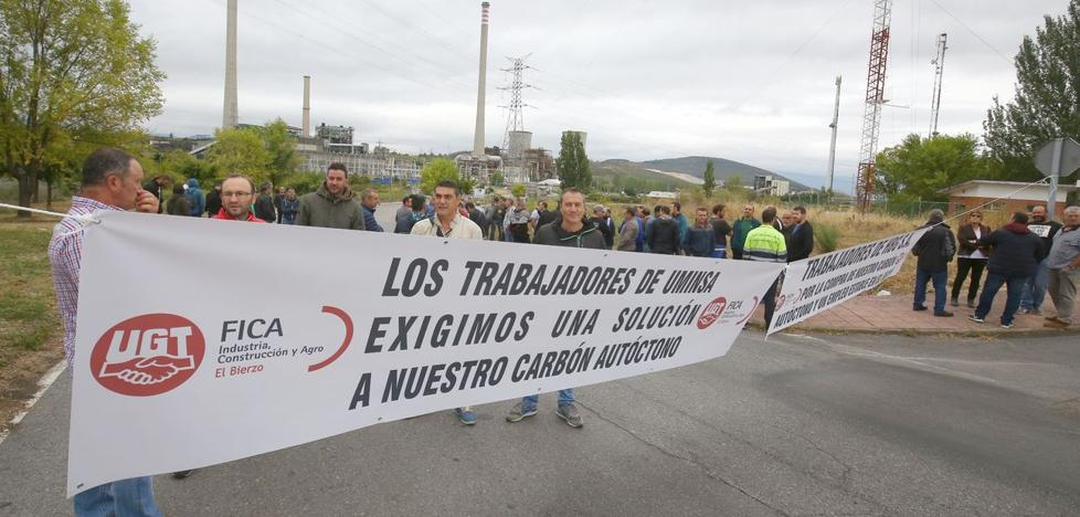 Los ultimos mineros salen a la calle para exigir la compra de carbón nacional y un empleo estable