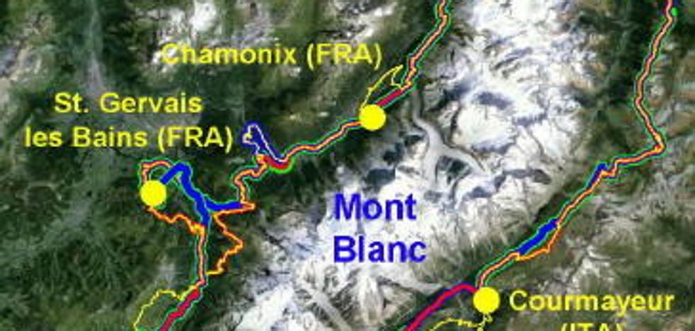 Rueda por la diabetes al Mont Blanc