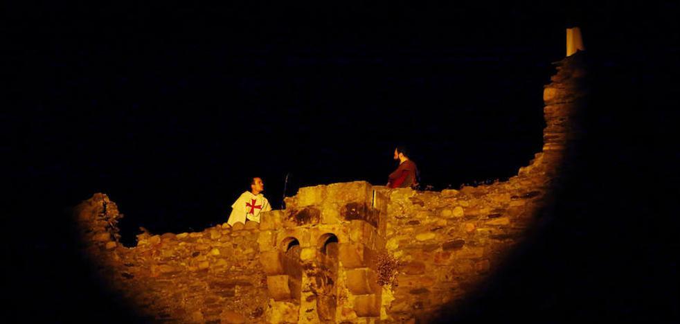 El castillo, epicentro de la recreación histórica de la Revuelta Irmandiña