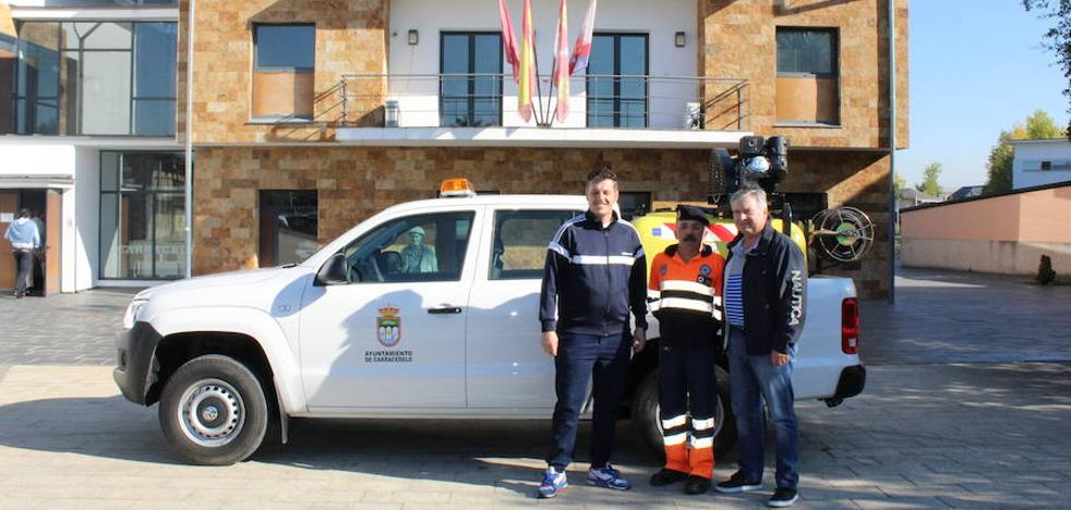 Carracedelo adquiere un vehículo para la extinción de incendios por 29.000 euros