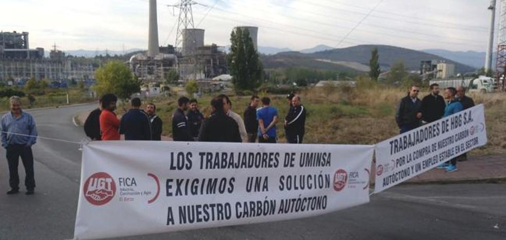 Los mineros levantan los cortes a la térmica como «buena voluntad» para que retome el suministro