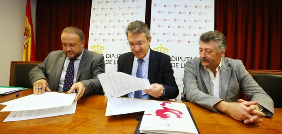 La Diputación de León incrementa hasta los 90.000 euros su aportación al Banco de Tierras del Bierzo