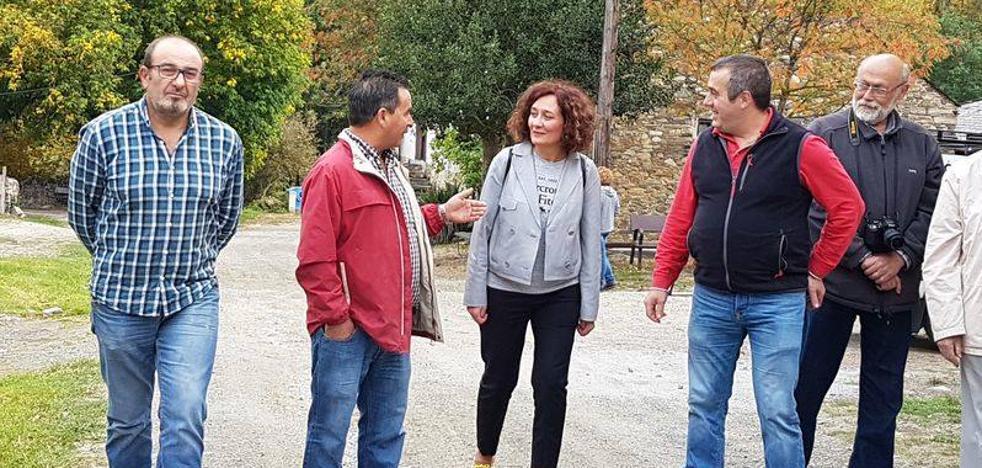 Ponferrada quiere fomentar el turismo sostenible y ecológico en Compludo con la herrería como principal foco