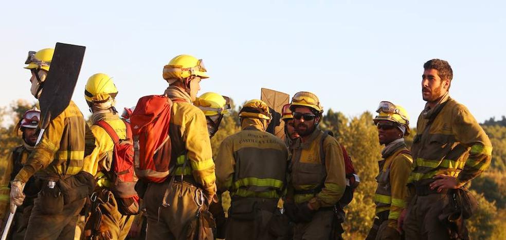 Profesionales de la lucha contra incendios se citan en Villafranca en las Jornadas Interdispositivos