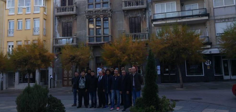 Los alumnos del programa mixto de Bembibre realizarán prácticas de albañilería en el Edificio Villarejo