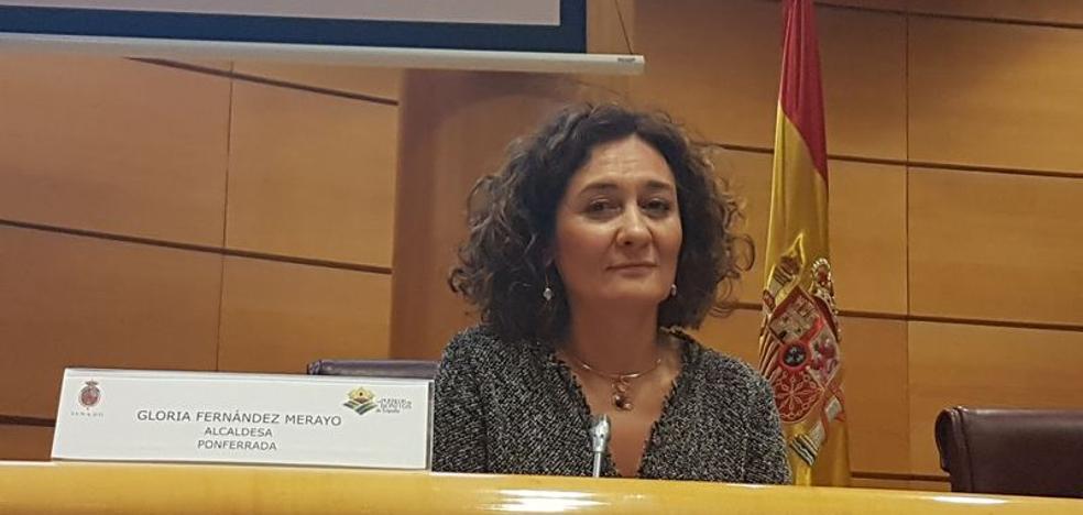 Merayo reclama en el Senado «más apoyo» a las capitales de comarca con servicios públicos rurales