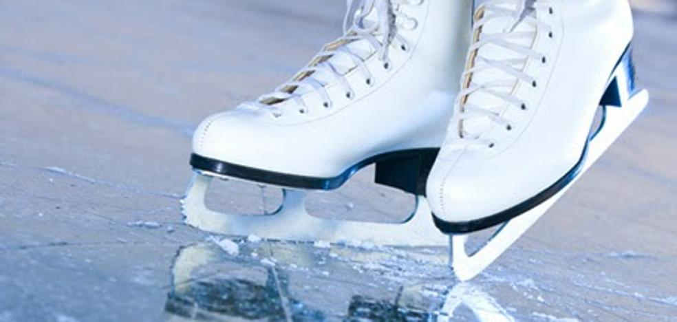 en NAVIDAD, a patinar