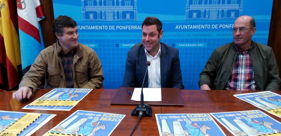 Ponferrada pedirá permiso a Patrimonio para iniciar en 2018 las prospecciones para determinar el valor de los 60 bancales en la Tebaida