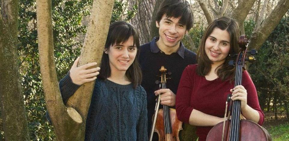 El trío ayren, en los conciertos de 'juventudes musicales'