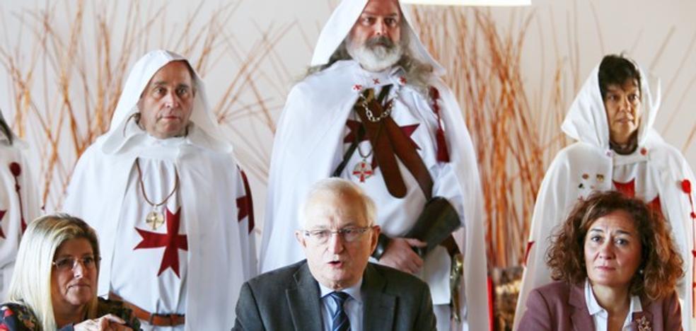 Ponferrada se integra en la Ruta Europea de los Templarios para impulsar su potencial económico y cultural