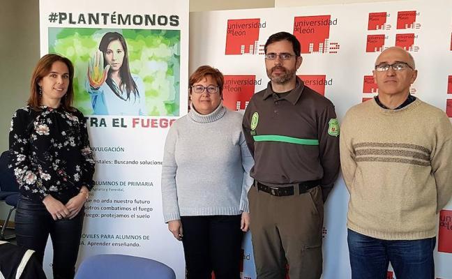 La campaña '#plantémonos contra el fuego' busca prevenir los incendios forestales en el Bierzo