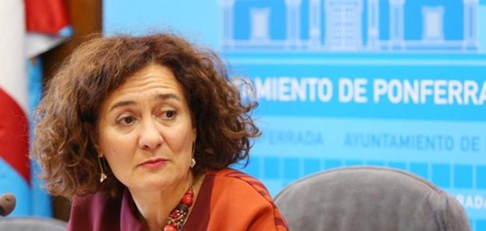 La alcaldesa de Ponferrada condena los hechos y apela al principio de presunción de inocencia