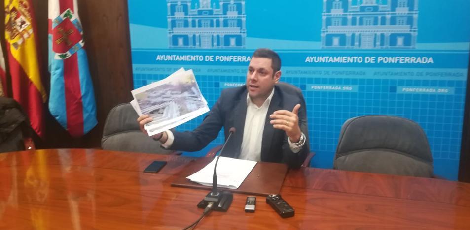Medio Rural denunció ante la Policía Municipal el vertido de uralitas en Valdefrancos