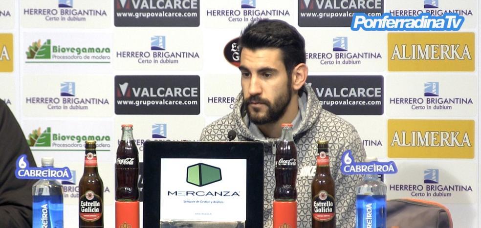 Moreno: «Es vital sacar los tres puntos el domingo»