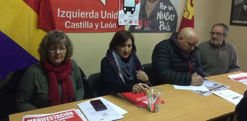IU del Bierzo apela al «hartazgo de la ciudadanía» para participar en la manifestación en defensa de la sanidad pública de Valladolid