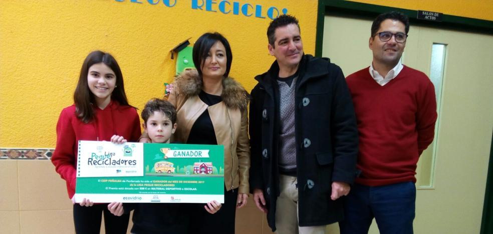 El Colegio Peñalba, ganador de la Liga Peque Recicladores del mes de diciembre