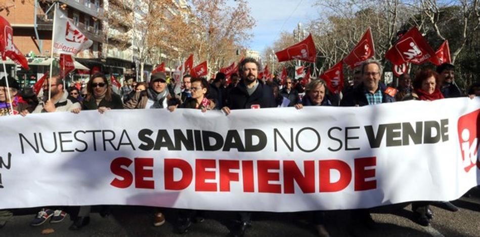 Las plataformas de la Sanidad Pública anuncian nuevas movilizaciones y buscarán apoyo político