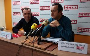 CCOO y UGT llaman a secundar la huelga general parcial del 8 de marzo contra la brecha salarial