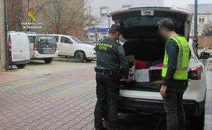 Dos personas detenidas y una investigada en una operación que desmanteló un punto de venta de droga en zonas de ocio de Fabero