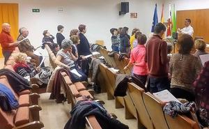 Cerca de 60 personas participan en el taller de canto celebrado en el Campus de Ponferrada