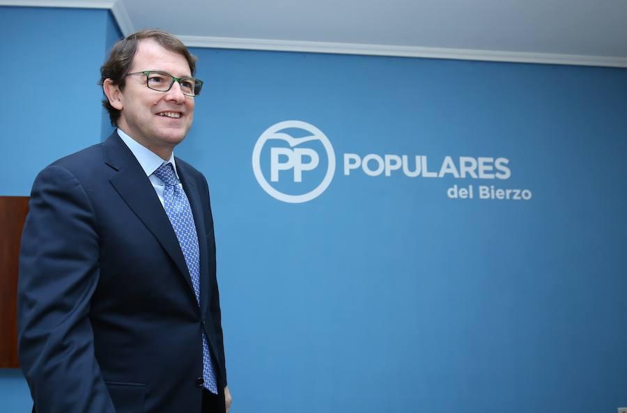 Visita del presidente del PP de CyL al Bierzo