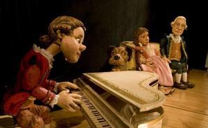 El pequeño Mozart juega en el Teatro Villafranquino