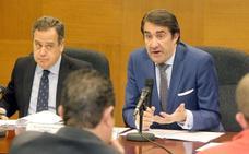Suárez-Quiñones confía en que las lluvias y la subida de las temperaturas ayuden a reducir la plaga de conejos