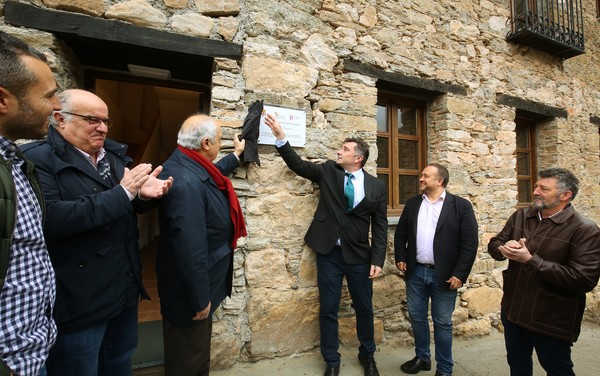 Inaguración del primer albergue del Camino de Invierno en Villavieja