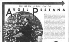 Barcelona homenajea al sindicalista berciano Ángel Pestaña