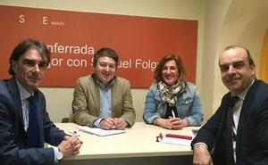 Las patronales bercianas se suman en pleno a la petición de un plan de reindustrialización para la comarca