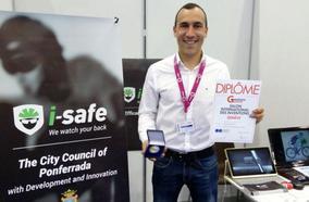 El I-Safe de Iván Sánchez gana la medalla de plata en la categoría 'Accesorios y Vehículos' en la Feria Internacional de Invenciones de Ginebra