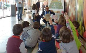 Gadis fomenta hábitos de vida saludable y consumo responsable entre 600 escolares de Ponferrada