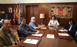 Ponferrada muestra su apoyo a los trabajadores de la central de Compostilla
