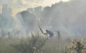 Investigan a una mujer como supuesta autora del incendio que quemó 10 hectáreas en Pobladura de Somoza