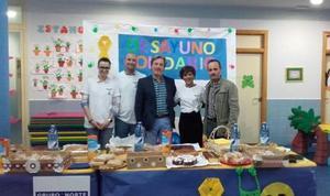 Las escuelas infantiles de Ponferrada celebran un desayuno solidario en favor de la asociación Pyfano