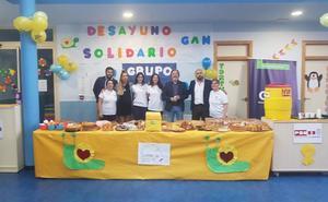 Las escuelas infantiles de Ponferrada se solidarizan con los niños enfermos de cáncer