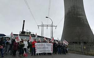 Los trabajadores de Masa en Anllares denuncian el trato «discriminatorio» de Gas Natural