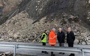 La Junta realizará obras para estabilizar el talud del kilómetro 31 en el vial Ponferrada-Villablino