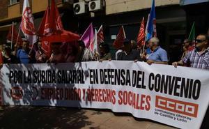 Los sindicatos reclaman en Ponferrada una subida salarial «justa»
