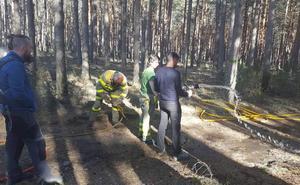 La Junta forma a los alumnos del centro de FP de Almázcara en selvicultura, especies protegidas e incendios