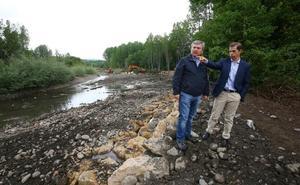 Confederación Miño-Sil invierte 70.000 euros en las labores de protección del monasterio de Carracedo