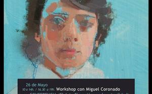El pintor Miguel Coronado reflexiona en Ponferrada sobre el arte figurativo en la actualidad