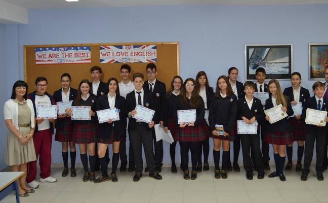 Los alumnos de Peñacorada ganadores del concurso The Big Challenge