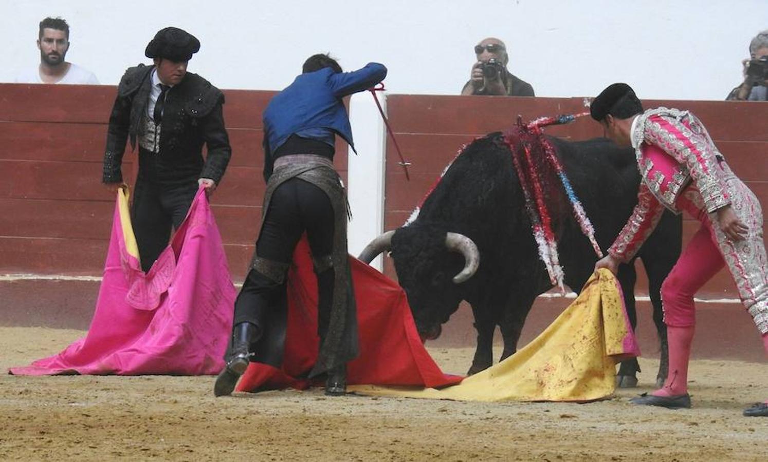 Las mejores imágenes de la corrida de rejones
