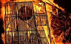El presagio de la quema
